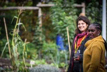 Rosa van Giessen, tuincoach van politicologie tot permacultuur